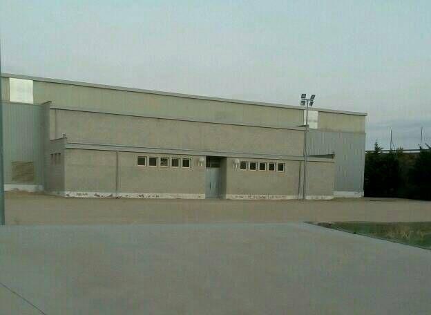 La Gineta : l'albergue municipale dans la salle de basket.