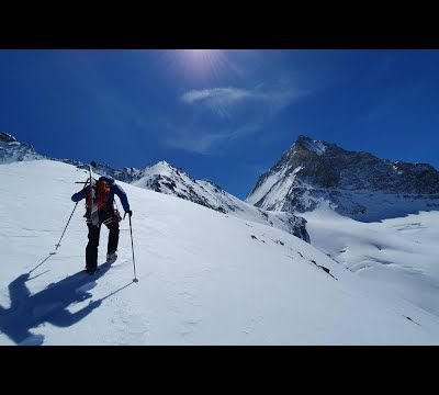 Ski de randonnée - Grand Cornier - pointe 3714 m
