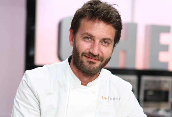 Julien Machet, Chef Etoilé du Restaurant Le Farçon participe à Top Chef 2015