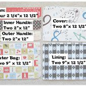 Pink Penguin: Tutorial: Lunch Bag
