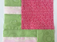 Blocs 91 à 100 du Citysampler de Tula Pink
