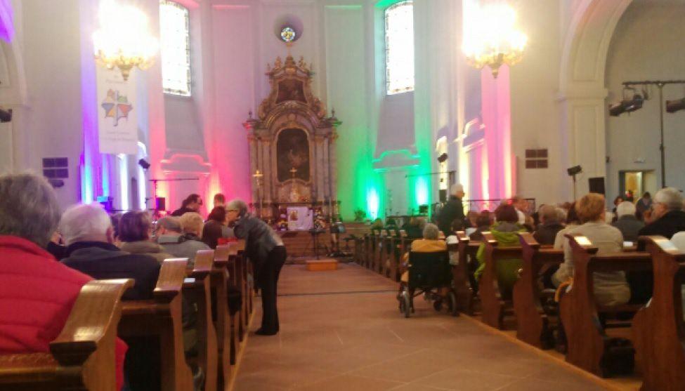 Concert à Neuf-Brisach avec Chorales de Jeunes d'Alsace