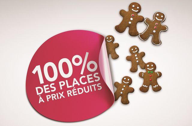 Le Père Noël SNCF a mis dans sa hotte les TGV 100% Prem's !