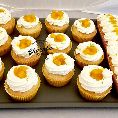 Cup cake mangues-citrons