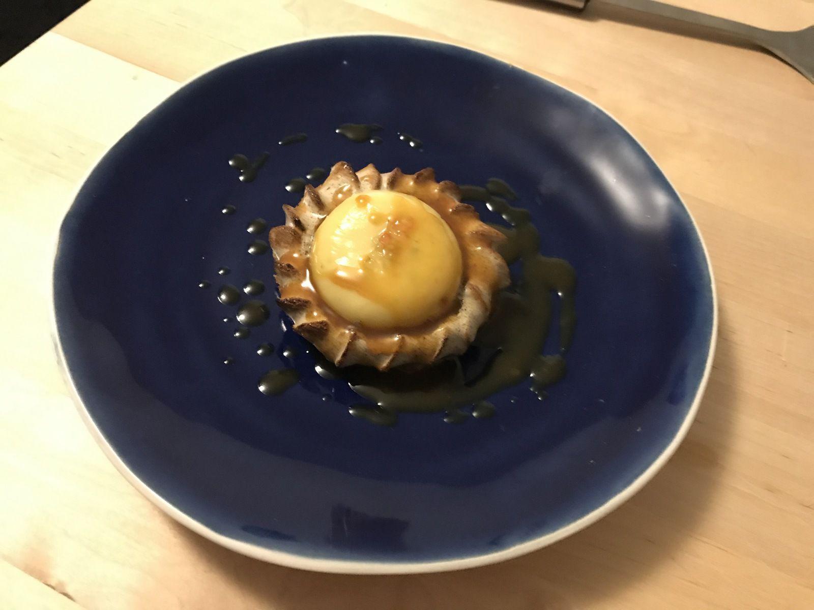 Biscuit madeleine Frenchie rue du Nil restaurant Paris 2
