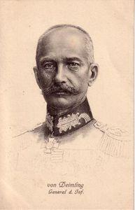Deimling accusé des crimes de Raon-l'Étape et d'Allarmont (Vosges)