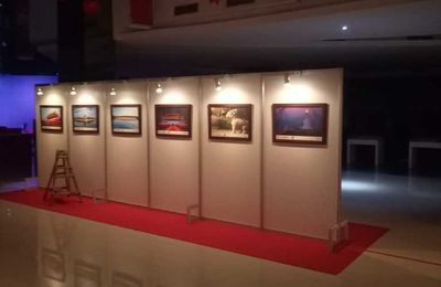 Partisi Pameran Foto, Sewa Panel Photo, Pameran Foto Jakarta, Panel R8