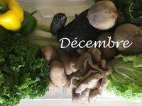 Des paniers de légumes toute l'année
