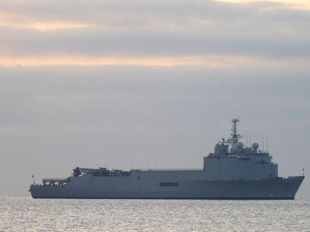 SERGENTA ALDEA 91 , Transport de Chalands de Débarquement  de la marine du Chili , TCD  ,;Ex  TCD FOUDRE L9011