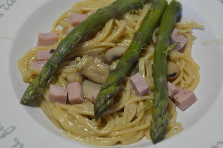 Recette cookeo : weight watchers spaghettis aux asperges