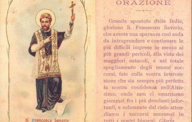 3 Dicembre: San Francesco Saverio - Preghiera e vita