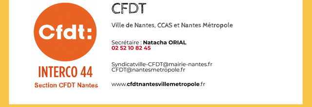 Contact CFDT section Nantes