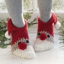 Chaussons tricotés modèles gratuits en français: à vos aiguilles !