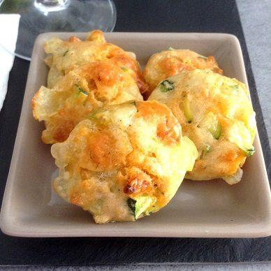 Mini muffins courgette/chorizo/mozzarella