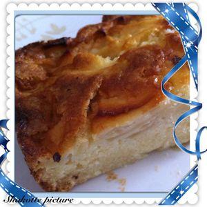 Gâteau aux pommes au Speedy Chef