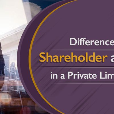 Difference between a Shareholder and Director in Private Limited Company