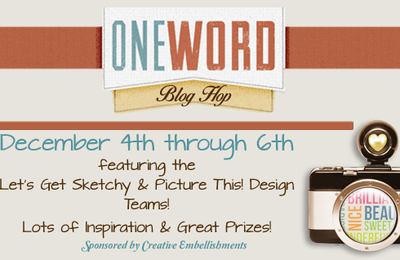 Let's Get Sketchy & Picture This Blog Hop December 4th Through 6th