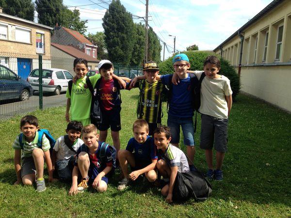 Tournoi de foot Jaures, Lavoisier, Lakanal - 31 juillet