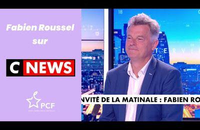 Fabien Roussel sur Cnews