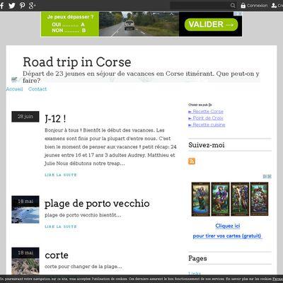 Road trip in Corse
