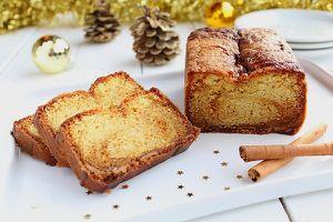 Cake de Noël Spéculoos & Caramel au Beurre Salé