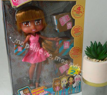 Princesse a découvert la boxy girl de chez best of toys