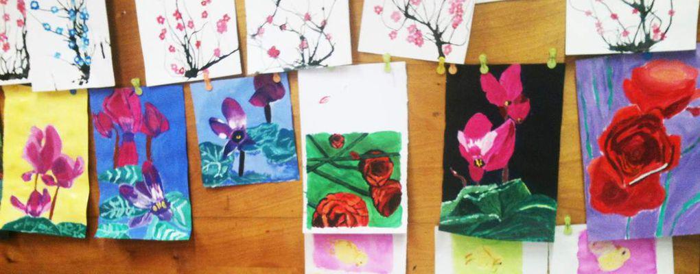 Fleurs de toutes les couleurs...