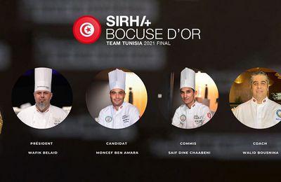 La Tunisie en lice pour le Bocuse d'Or 2021 avec Chef Wafik Belaid et sa team !