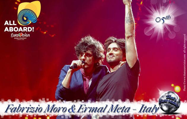Italy - Ermal Meta and Fabrizio Moro - 5th All Aboard!
