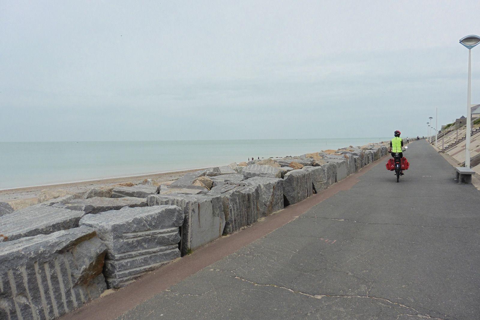 Boucle en Cotentin 2  : étape 1 - Montmartin-sur-Mer / Bolleville (La Haye) - 76,5 km