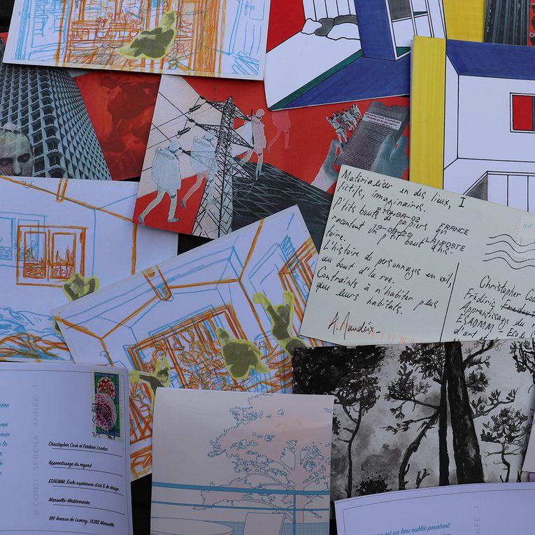 Ainsi s'achève l'année universitaire 2019/2020 à l'école d'Art et de Design de Marseille...