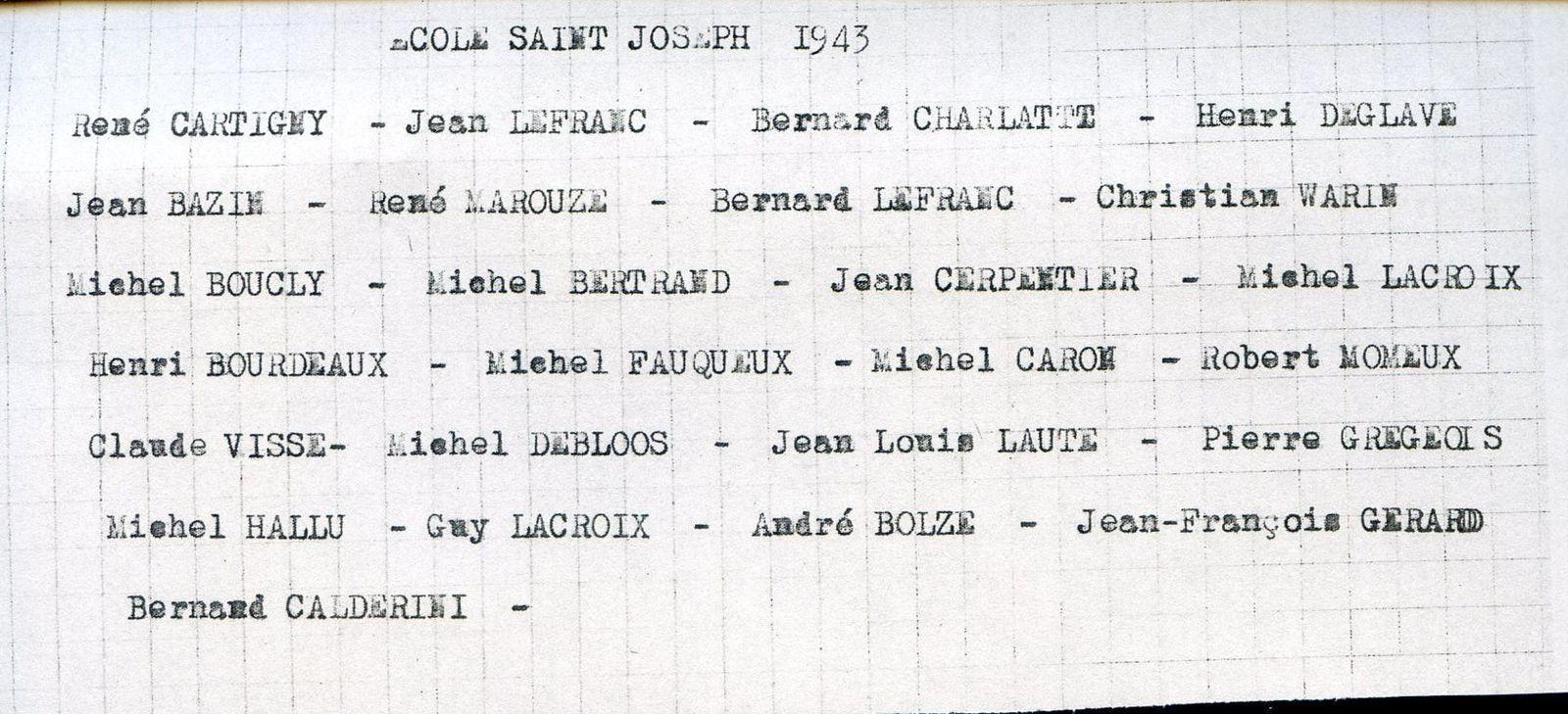 Album -  la ville de Noyon (Oise), les écoles hotel Dieu, du séminaire, Saint Joseph
