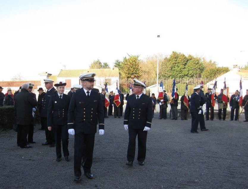 Remise du fanion à la Préparation Militaire Marine samedi 10 décembre
