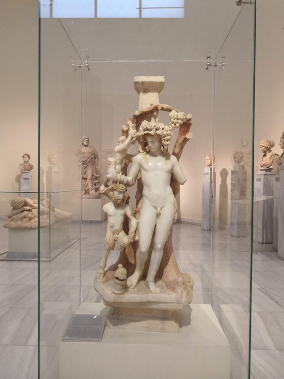 Table support with a Dionysan group, Marble from Asia Minor, AD 170-180