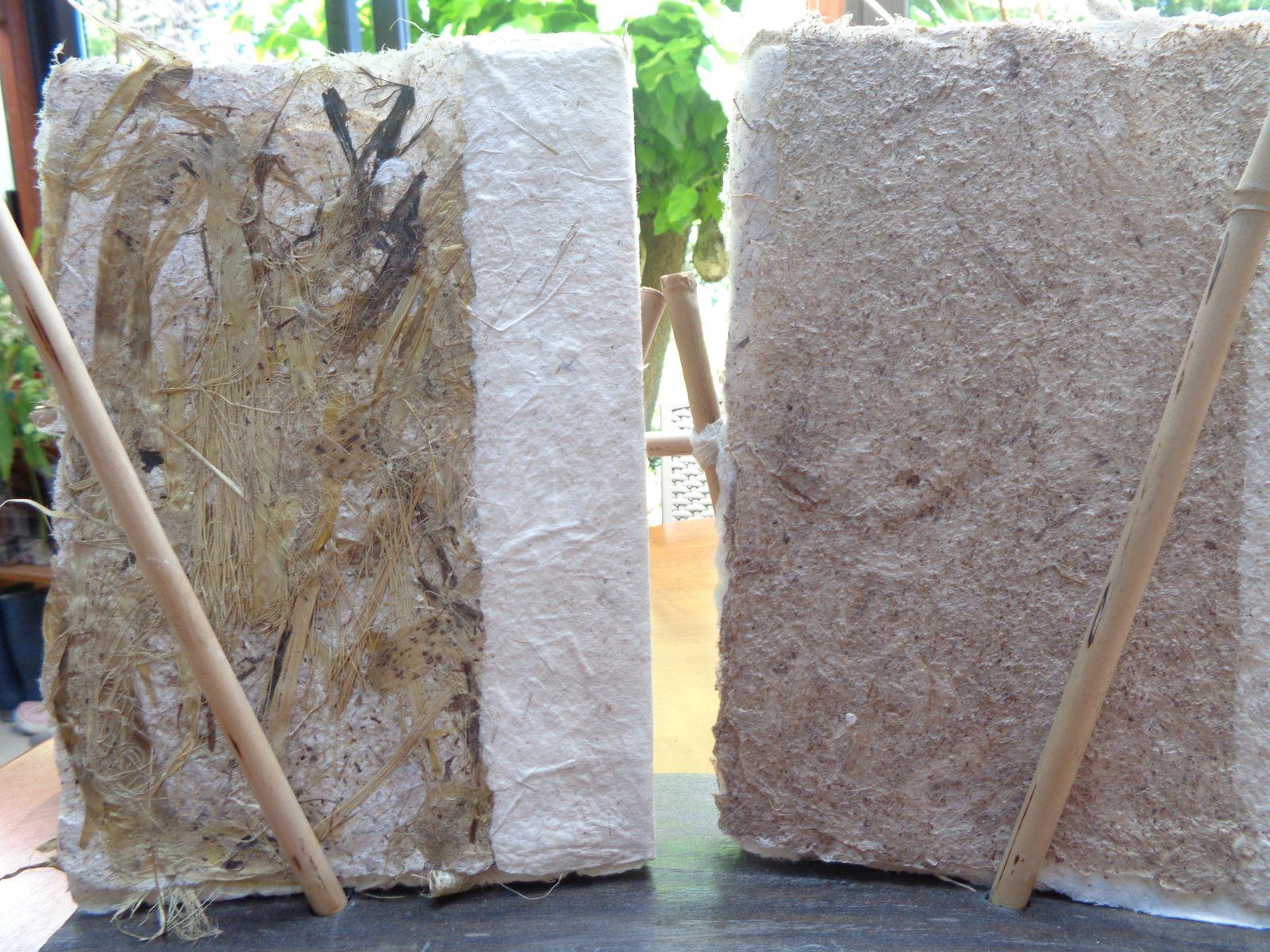 changement de format, dominante mûrier et bambou, chanvre........