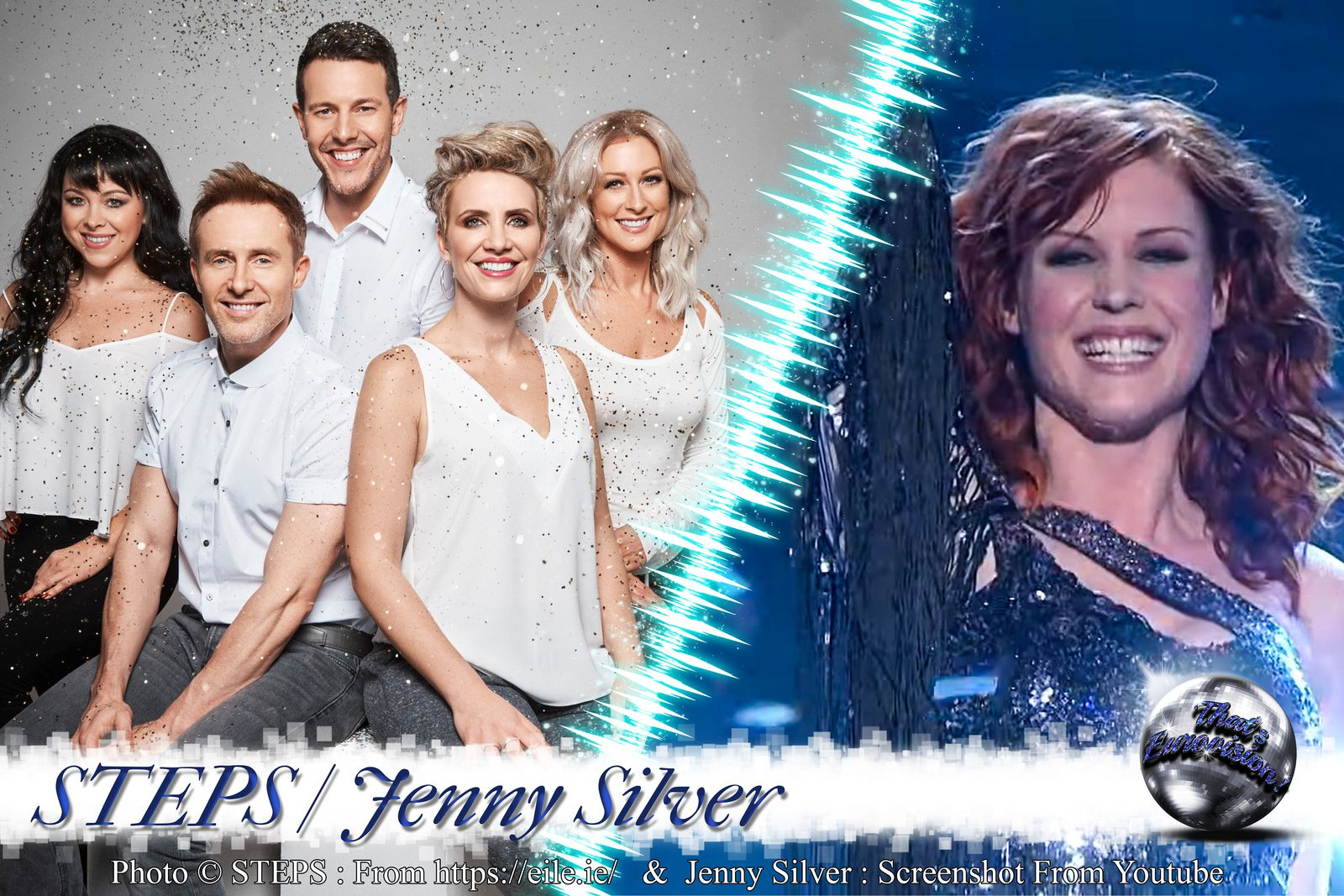 STEPS - Jenny Silver - Something in Your Eyes