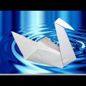 Origami facile : 🦢 Cygne ❤️
