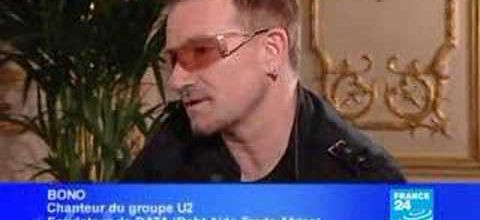 BONO,star du rock et de l'humaniture