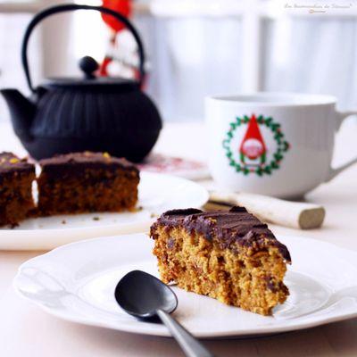 Gâteau Chocolat Orange Végane