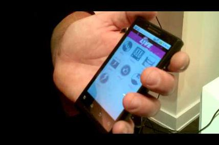 Hands-on with the Motorola Triumph Android handset for Virgin Mobile