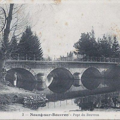 Neung sur Beuvron : Le Pont