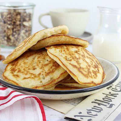 Pancakes Sans Œufs à la Banane