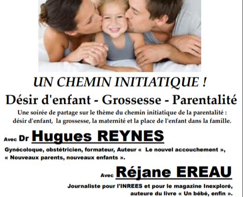 """Conférence """"Parents-Enfants, un chemin initiatique"""""""
