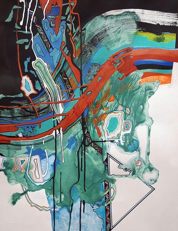Marie Kresser-Verbois - Point 20 et suivants de la peinture en neuf mois