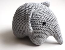L'éléphant amigirumi