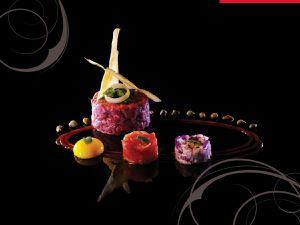"""Visions gourmandes """"L'art de dresser et présenter une assiette comme un Chef de la gastronomie"""""""