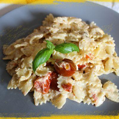 Pâtes à la feta et aux tomates cerises ou Baked Feta Pasta