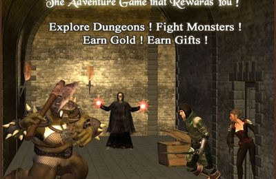 Dungeons & Treasures - earn REAL Money while playing simple game.