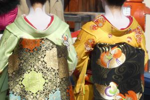 Kyôto : Gion 祇園 et Pontotchô 先斗町 quartiers traditionnels de Geishas