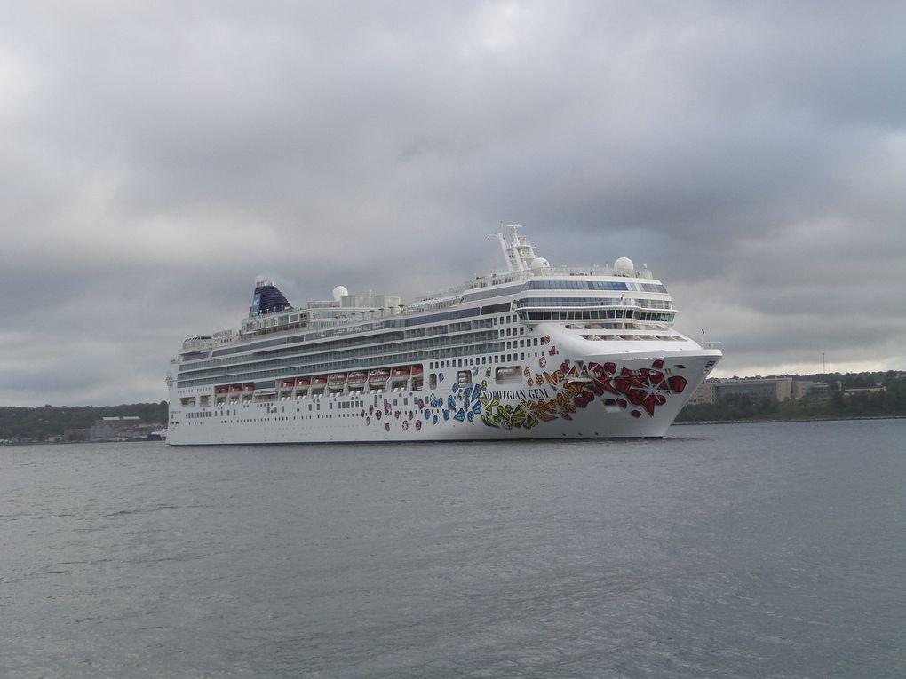 Et ainsi voguent les bateaux à Halifax...